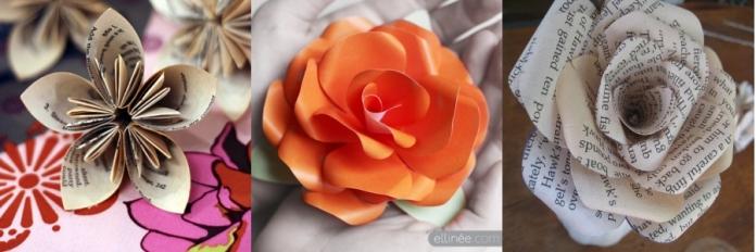 Z PAPER FLOWERS