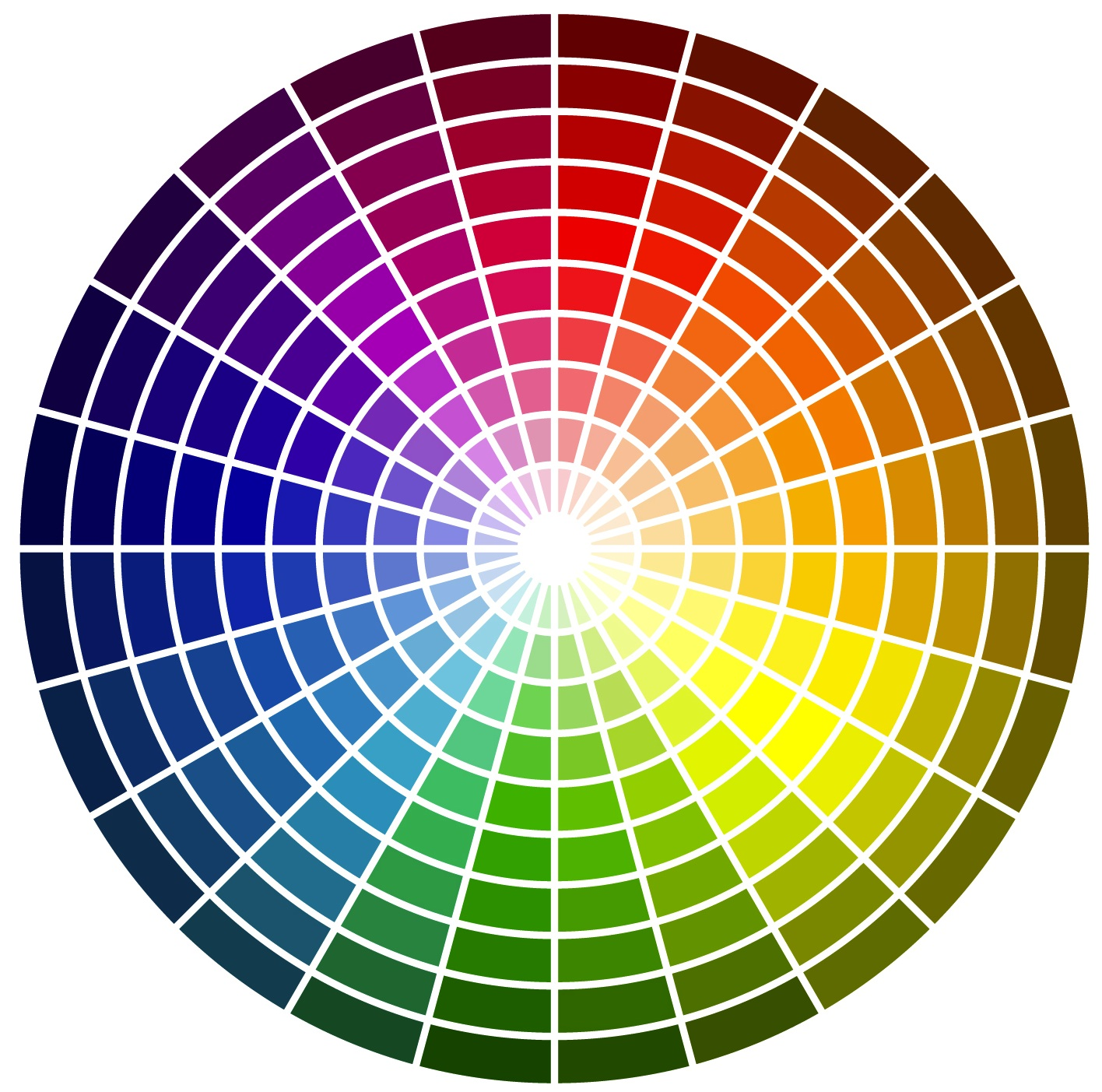 Creating a colour scheme crafty brides for Picture of colour wheel