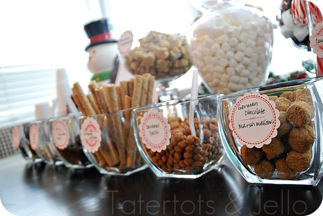 hot-chocolate-bar-condiments-in-a-row
